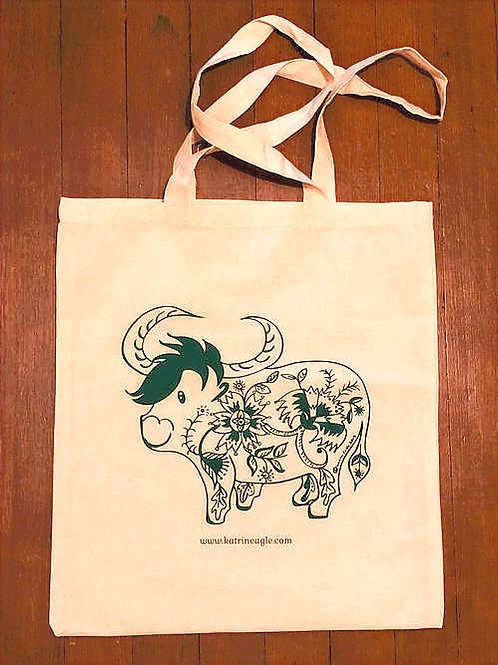 cow cotton bag