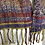 hand woven scarf twisted fringes