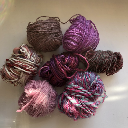 Pretty pinks yarn project pack