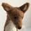 felted fox face