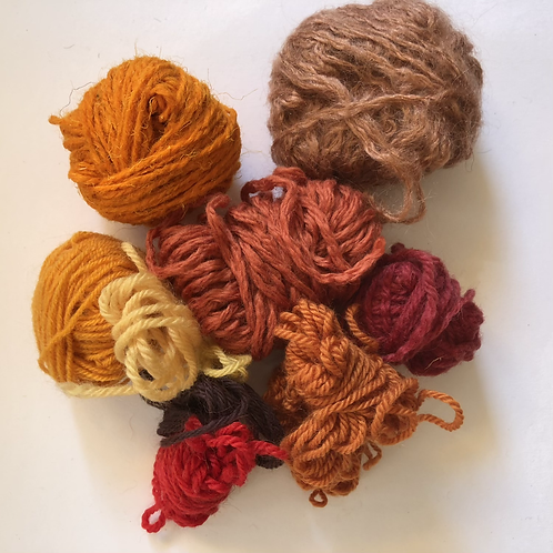 Spice shades yarn project pack