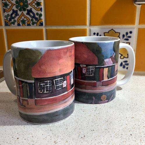 Petersfield pool mugs