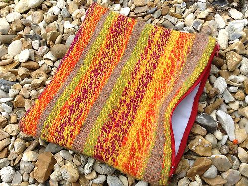 Woven zippy pouch - medium