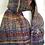 unique woven scarf