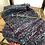 Thumbnail: Blue ripple scarf