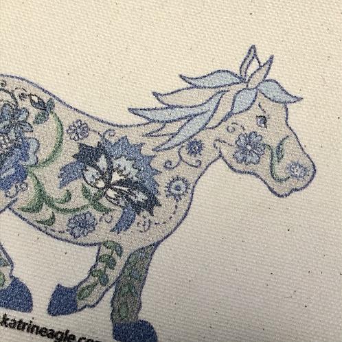 Horse pencil case/make-up pouch
