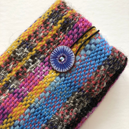 Woven spectacle case