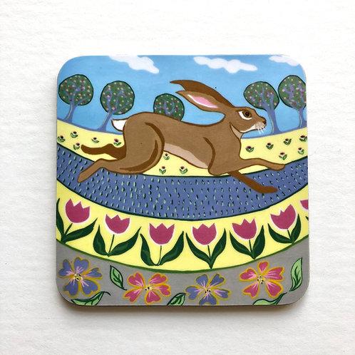 hare springtime coaster