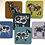 Thumbnail: Folk Art Sheep Coaster Set