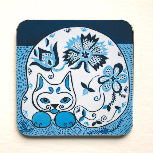 'Triinu' cat coaster