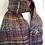 handspun wool scarf