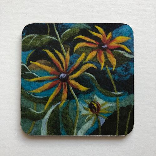 Rudbeckia Coaster
