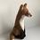 felt fox made of wool