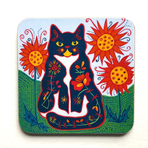 'Sophie' cat coaster