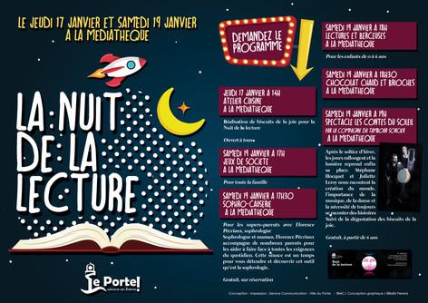 Nuit de la lecture 2019 - Le Portel