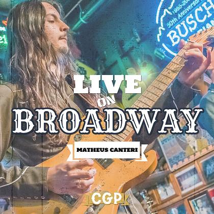 Live on Broadway - Matheus Canteri