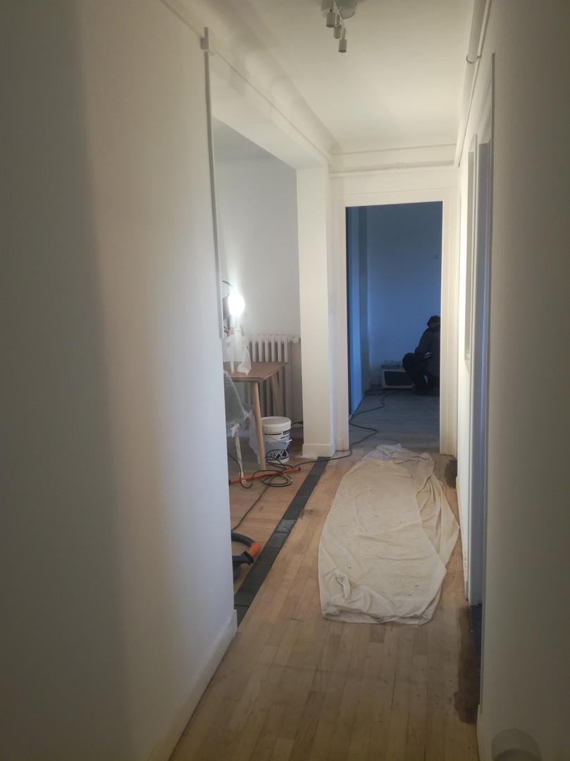 Couloir depuis l'entrée