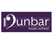 Dunbar Music School, Dunbar, logo, branding, logos, brand, design, designer, graphic, identity, crawley, west, sussex, surrey, gatwick, kent, south east