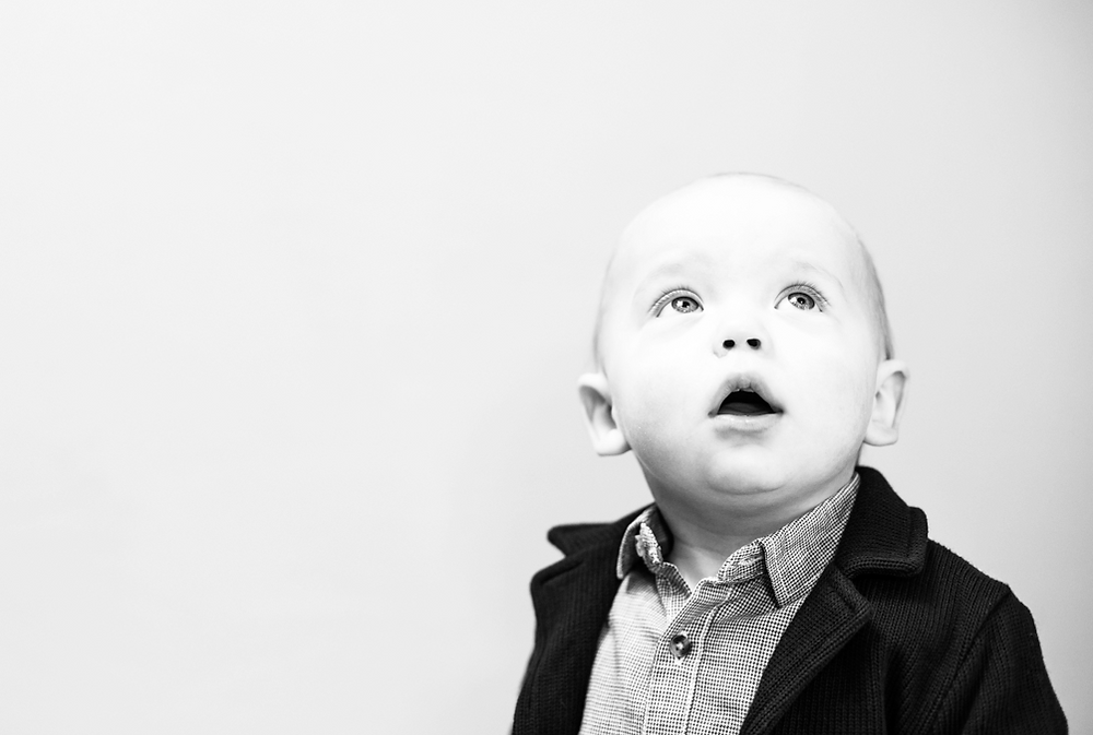 A small dude IDEAlee recently photographed (Family Photography Shoot)!