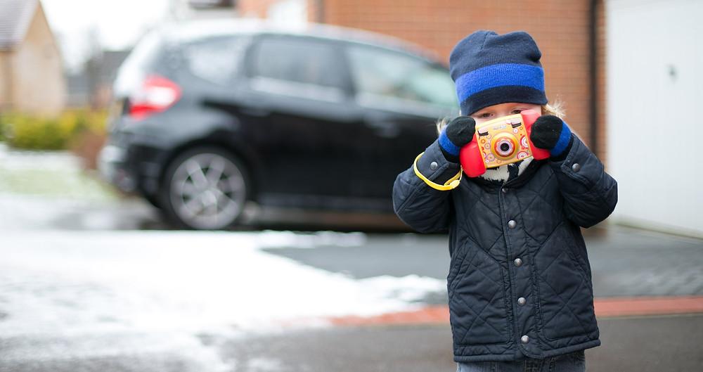 Crawley Junior taking photos!