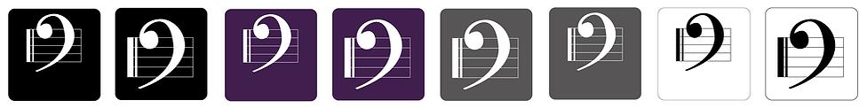Avtar Logo Designs for Dunbar Music School (IDEAlee, Crawley, West Sussex)