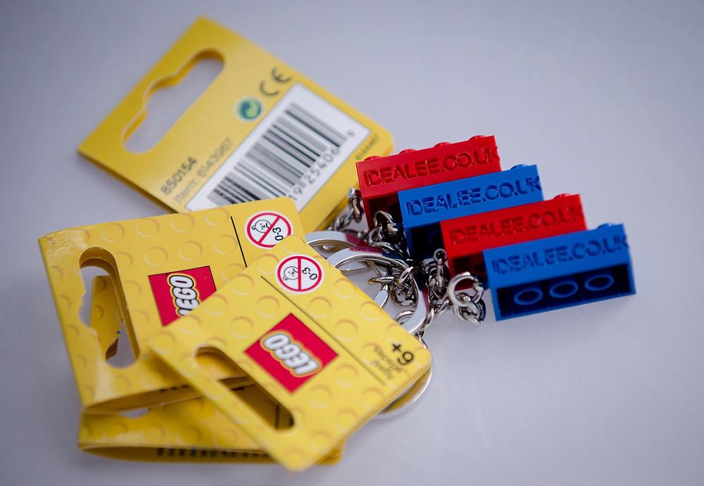 IDEAlee Lego keyring giveaway