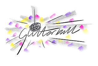 Colour, pink, purple, yellow, The Glitterball Bakery, Godalming, Surrey, sketch, cake, baking, image, bespoke, drawing, glitterball, logo, branding, logos, brand, design, designer, graphic, identity, crawley, west, sussex, surrey, gatwick, kent, south east, crawley