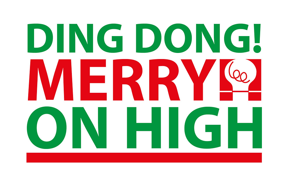Ding Dong Merrylee on high, Seasons Greetings & Happy New Year from IDEAlee (Christmas ecard design).  Based in Crawley, covering West Sussex, Surrey, South East