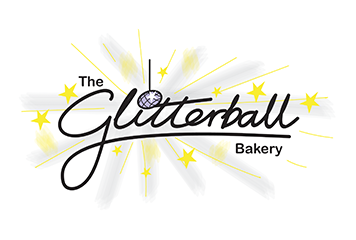 The Glitterball Bakery Logo, Crawley