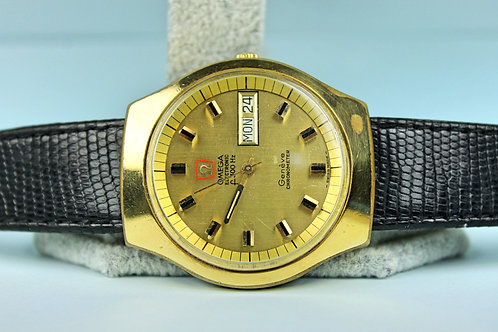Omega Electronic f300hz Chronometer Day Date