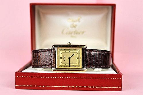 Cartier Must De Cartier Vermeil 81006 - With Original Box