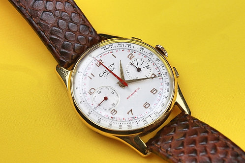 CAUNY CHRONOGRAPH Vintage – Men's wrist watch – 60s