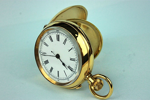 Repeater Chronograph 18K S. Smith & Son 9 Strand London Pocket Watch