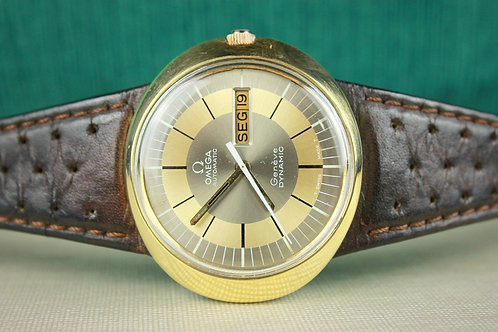 Omega Dynamic Geneve Gold Plated Automatic Men's 70's