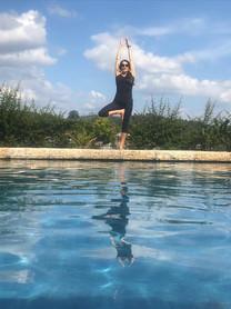 Sarah-jane by pool