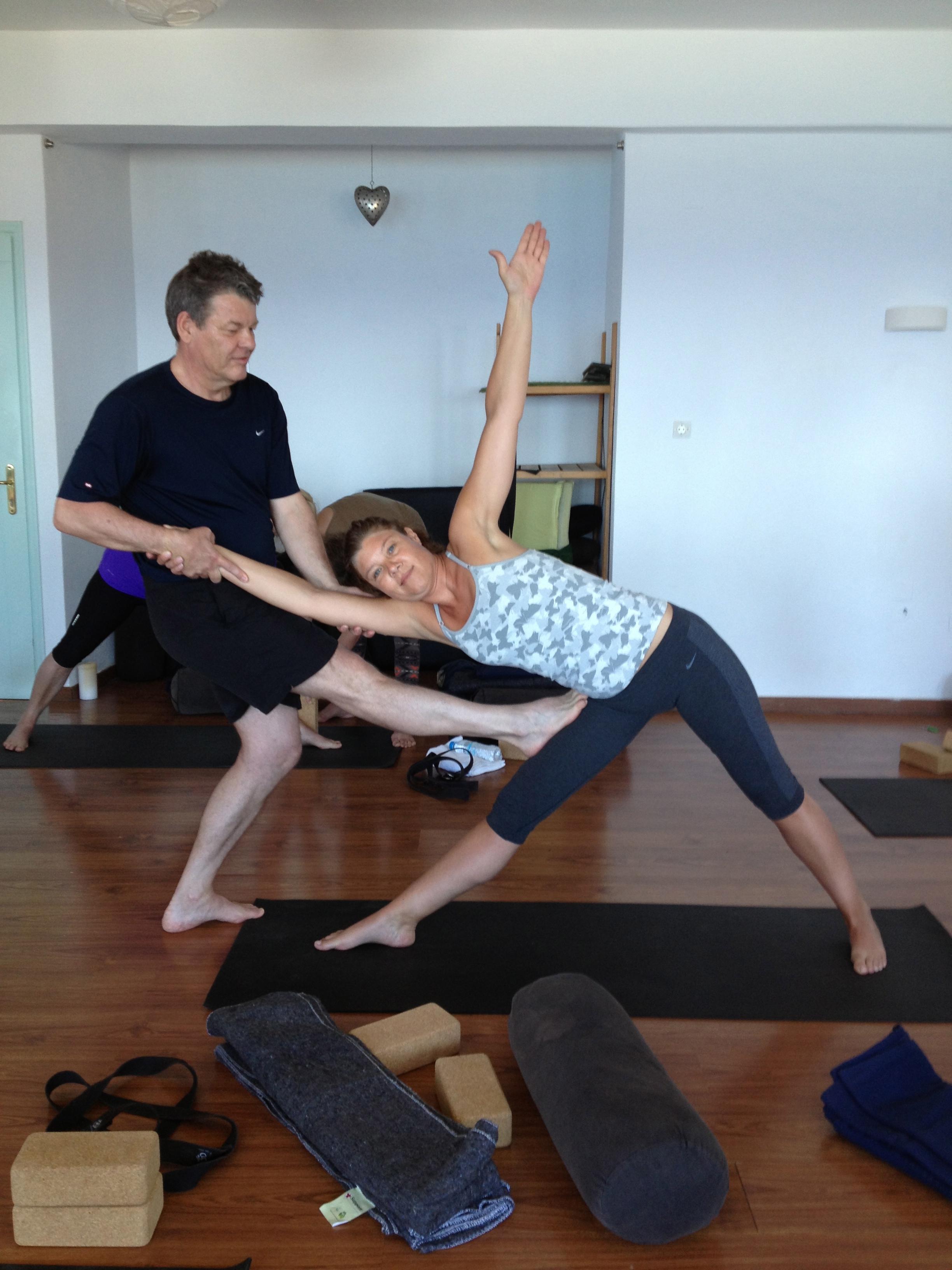 Yoga Class Instruction
