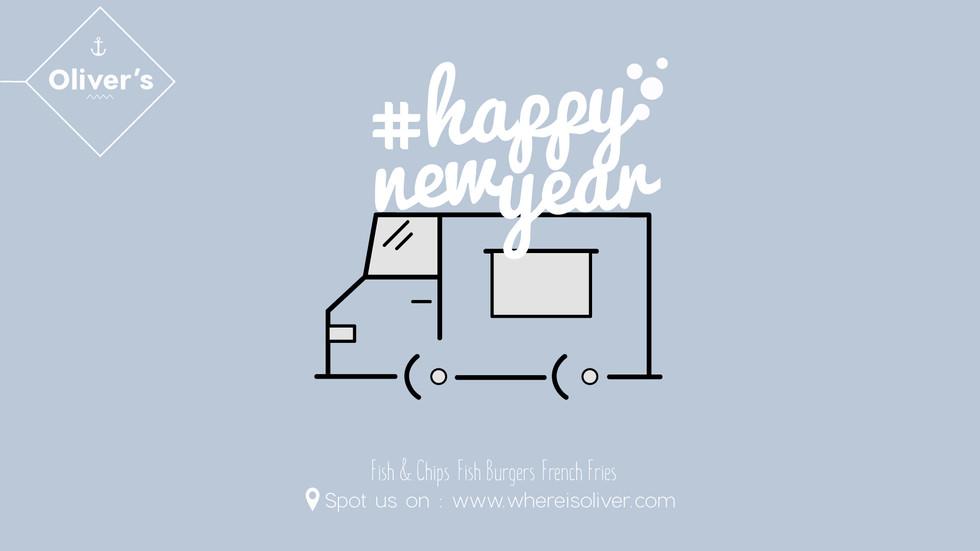 Carte de voeux : Happy new year