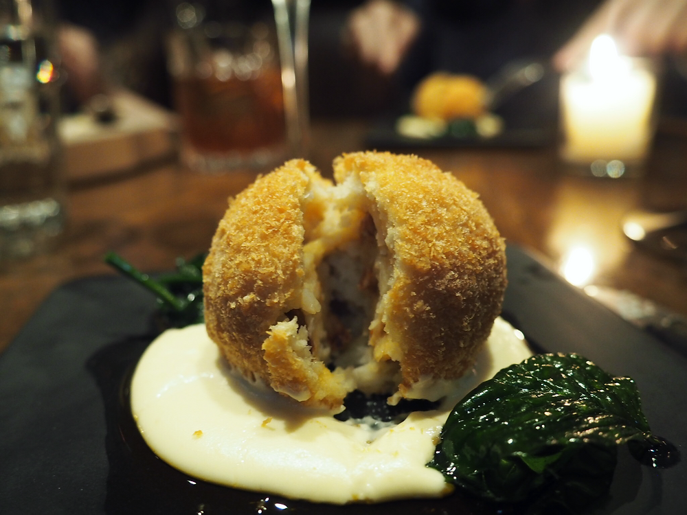 Lily & Bloom | Smoked Celery Root Croquette
