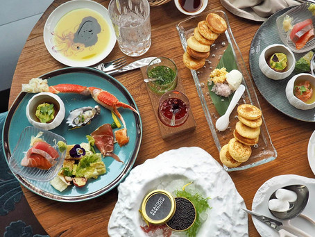 Sky-high Boozy Brunch at Seafood Room