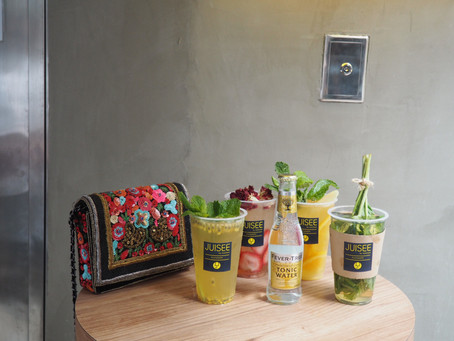 JUISEE by I See I See Introduces Tea & Tonic Juice Concept to Hong Kong