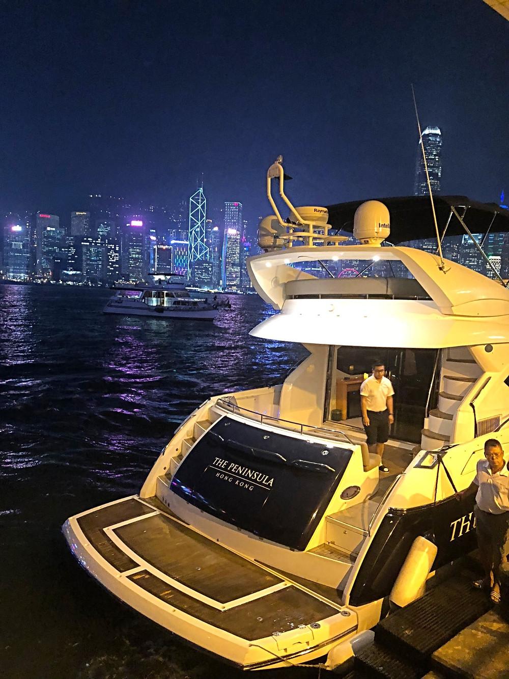 The Peninsula Yacht | The Peninsula Hong Kong