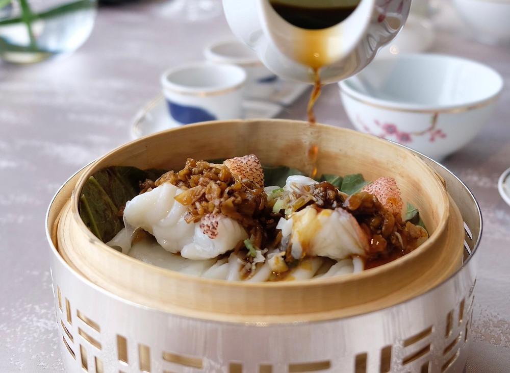 Grouper   Man Wah Mandarin Oriental Hong Kong