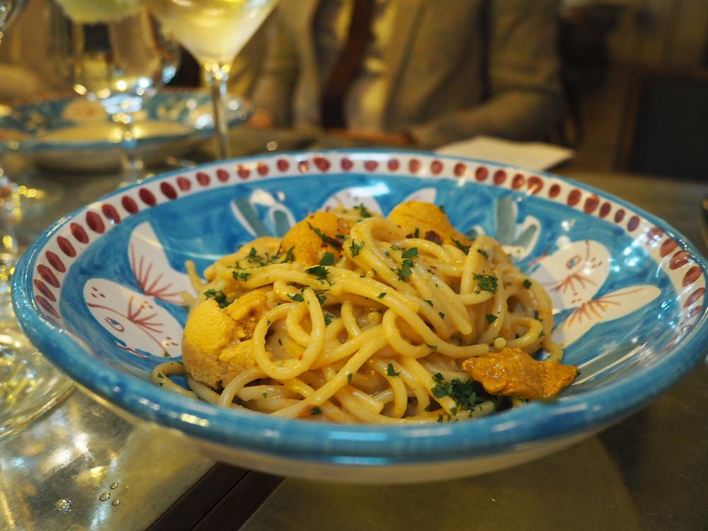 Osteria Marzia | Sea Urchin Spaghetti