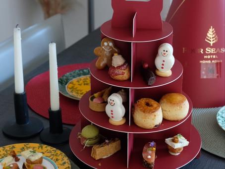 Takeaway Christmas Afternoon Tea by Four Seasons Hong Kong