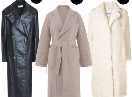 Perfect winter coats inspired by my favourite style icons