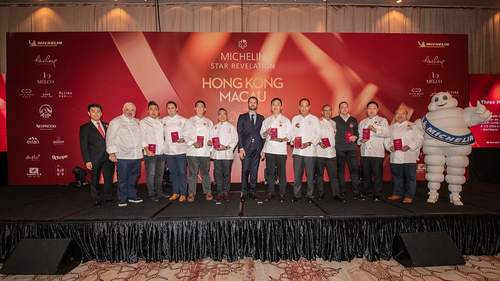 2020 Michelin Guide Hong Kong Macau | 3 Michelin Stars