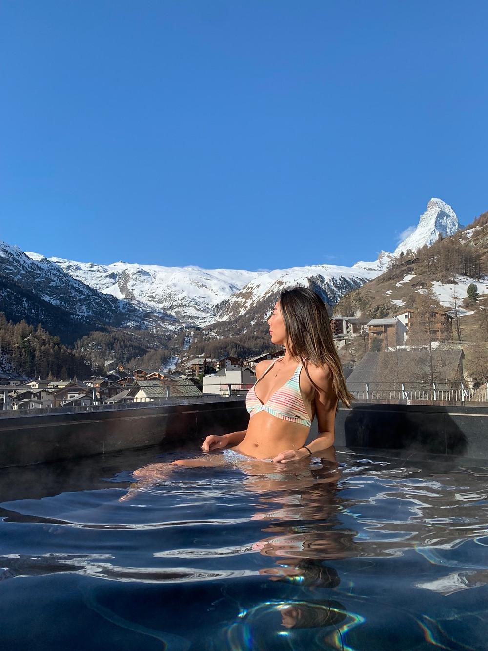 The Omnia Jacuzzi Zermatt
