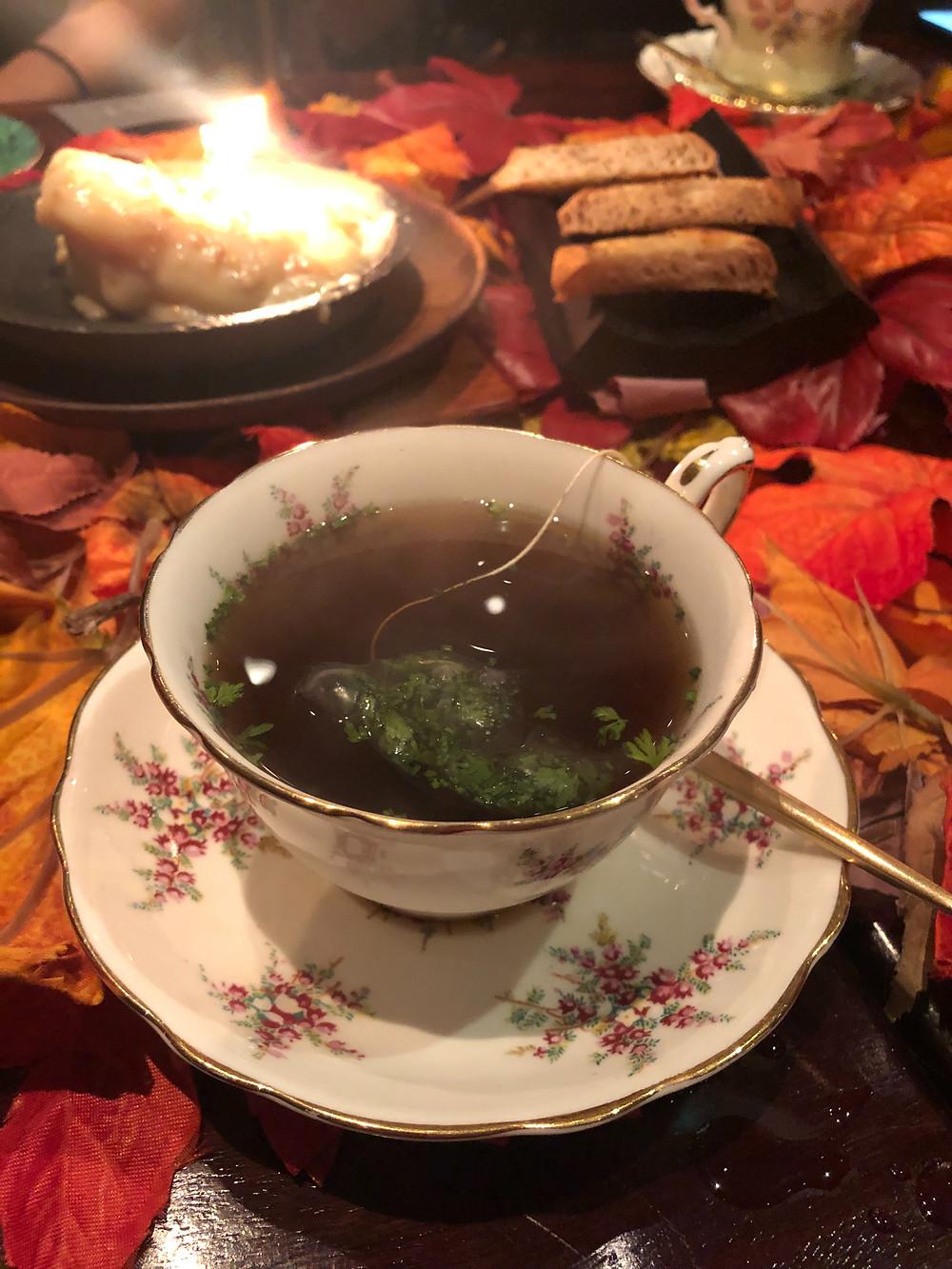 Restaurant Uwe | Uwe Opocensky | Mushroom Tea