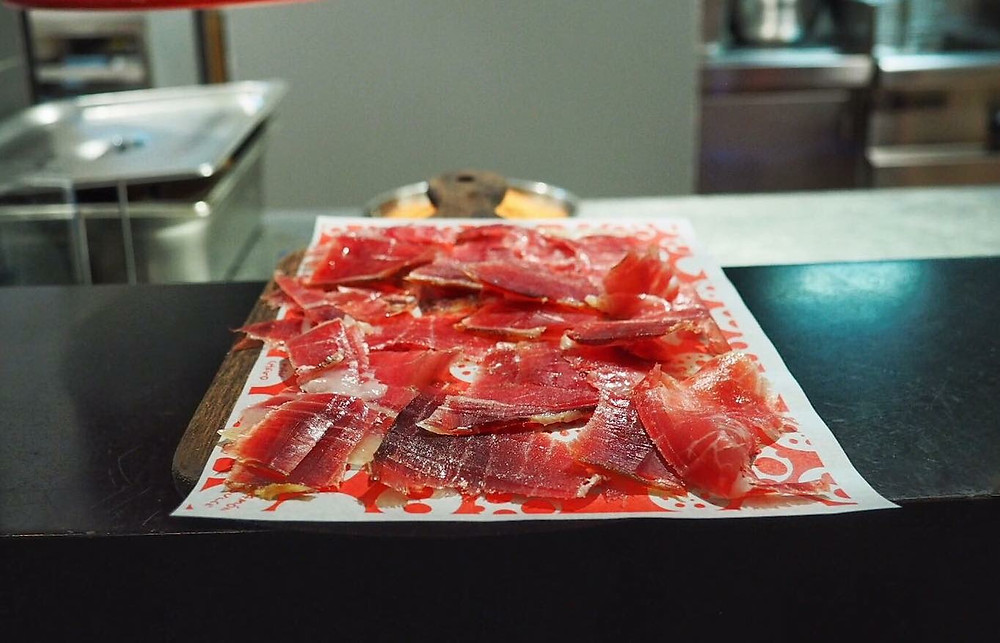 Jamon Iberico at La Paloma