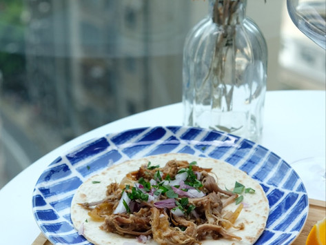 [Recipe] Crispy Pulled Pork Carnitas